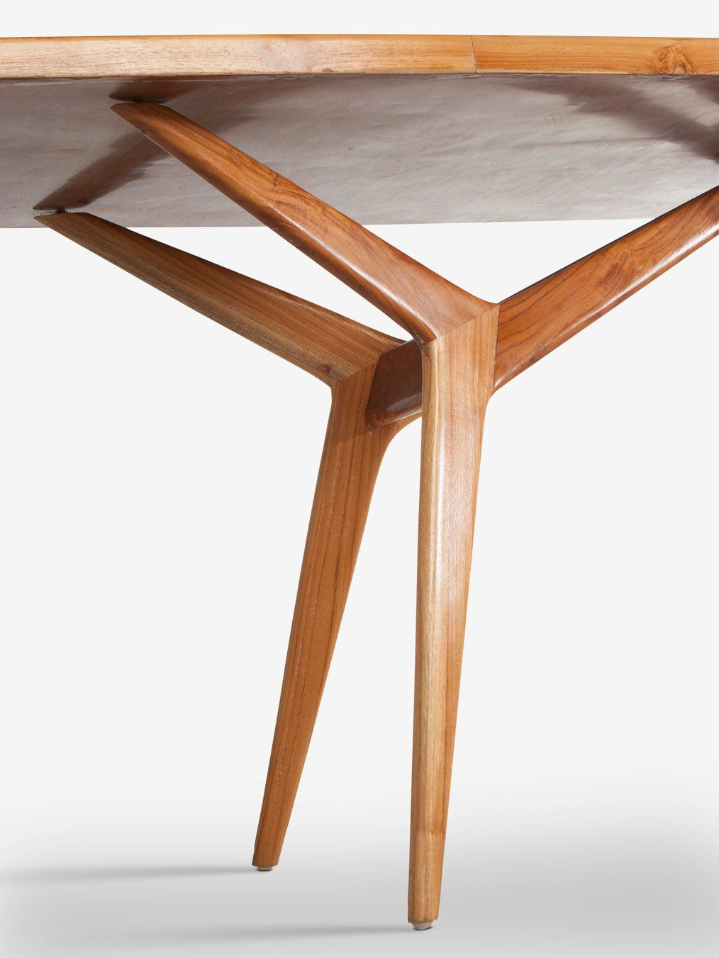 1950 S Table By Carlo Graffi Mid Century Table Legs Table Contemporary Modern Furniture Mid century coffee table legs