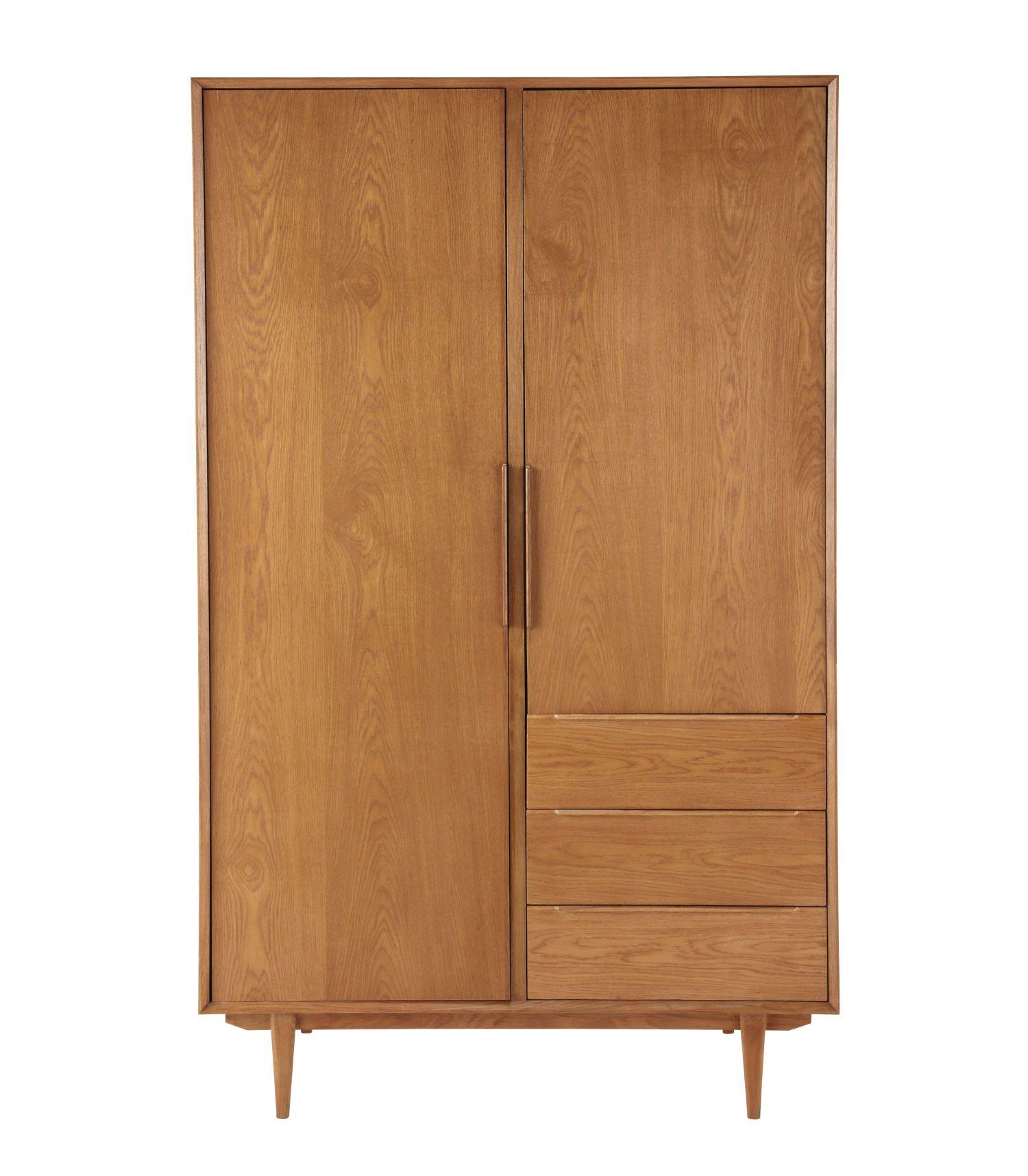 Vintage 2 Door 3 Drawer Closet In