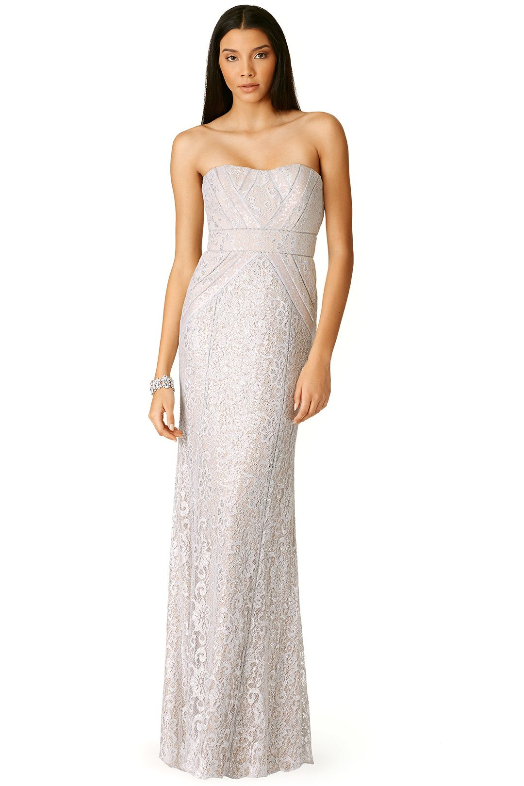 40cf7e025343 Rent Reflection Gown by Badgley Mischka for $115 only at Rent the Runway.