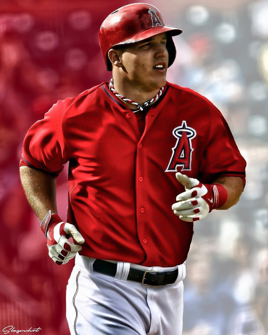 Mike Trout Edit Miketrout Nhl Nba Sports Nfl Edits Instagram Sportsedits Slapshot Mlb Football Basketbal New York Yankees Mike Trout Slap Shot