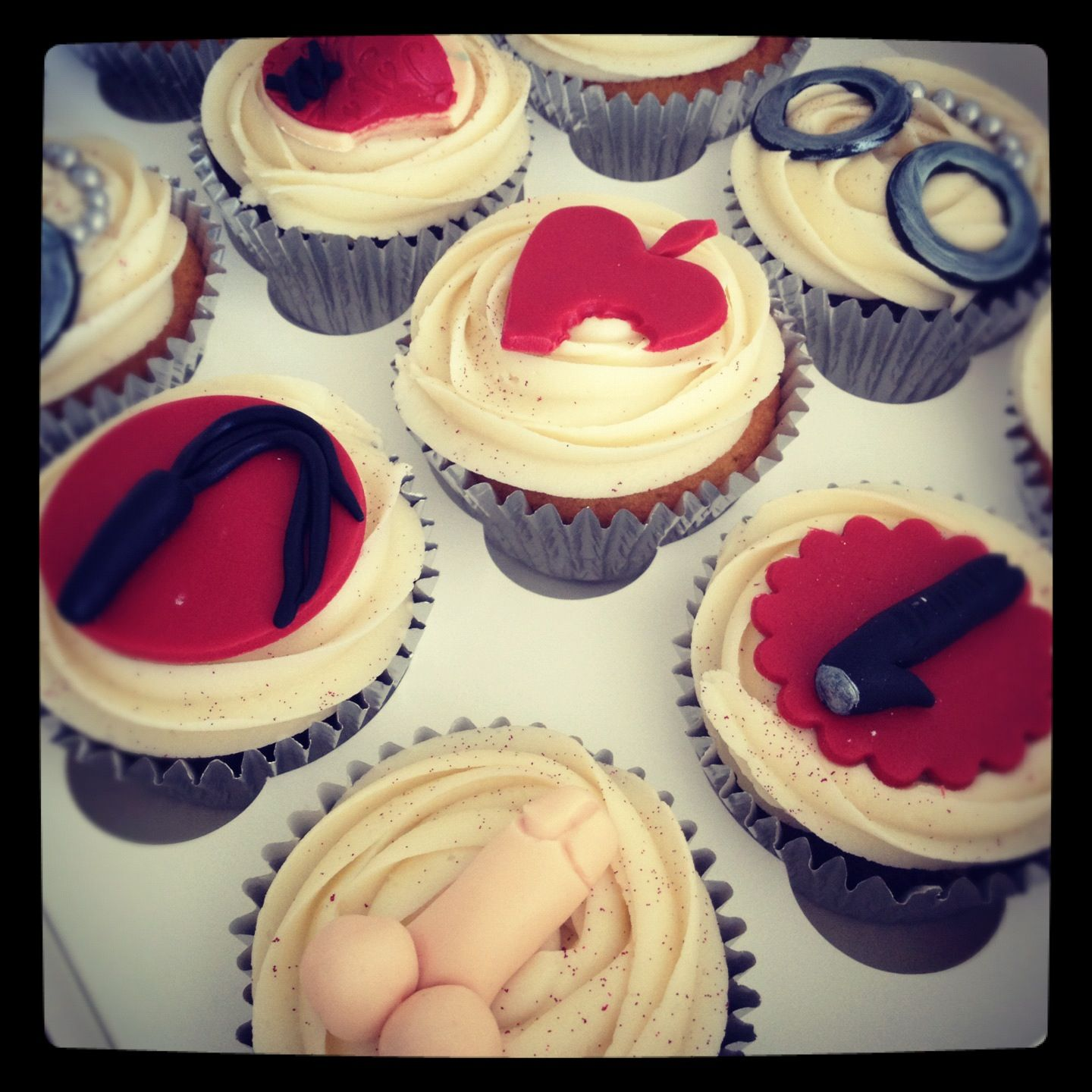 Ann Summers cupcakes by www.candyscupcakes.co.uk   Candys Cupcakes ...