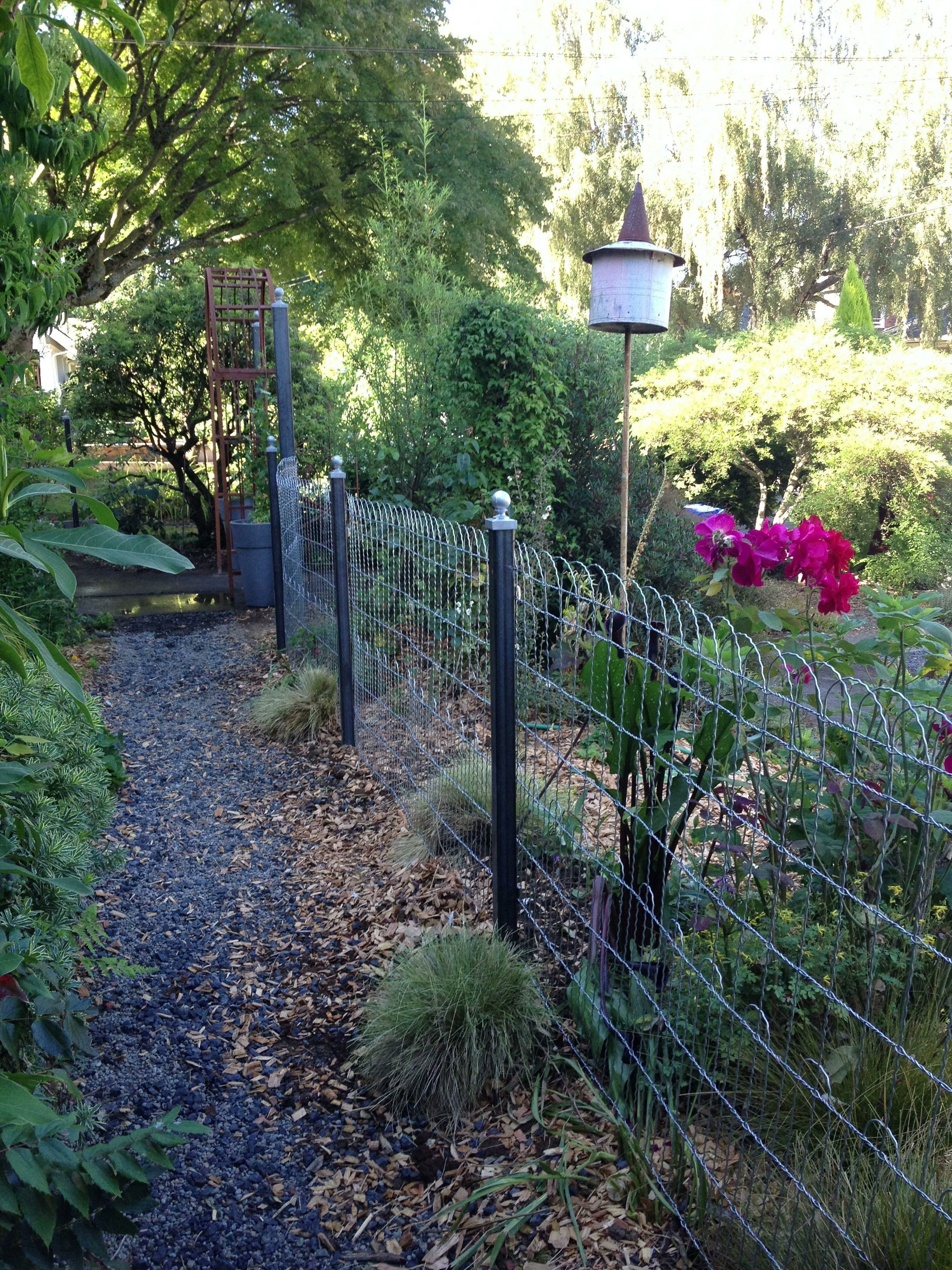 Double Loop Garden Fence my dream fence Castle House and Garden