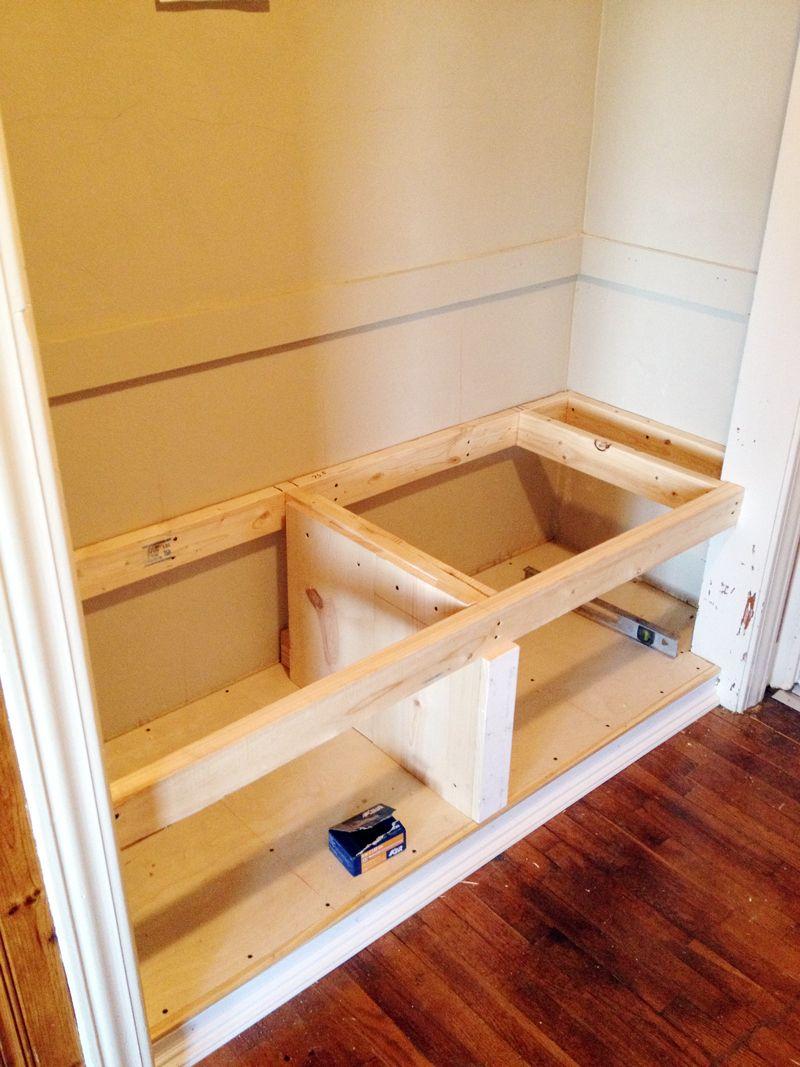 Bench Building Ideas Part - 50: DIY Closet Bench
