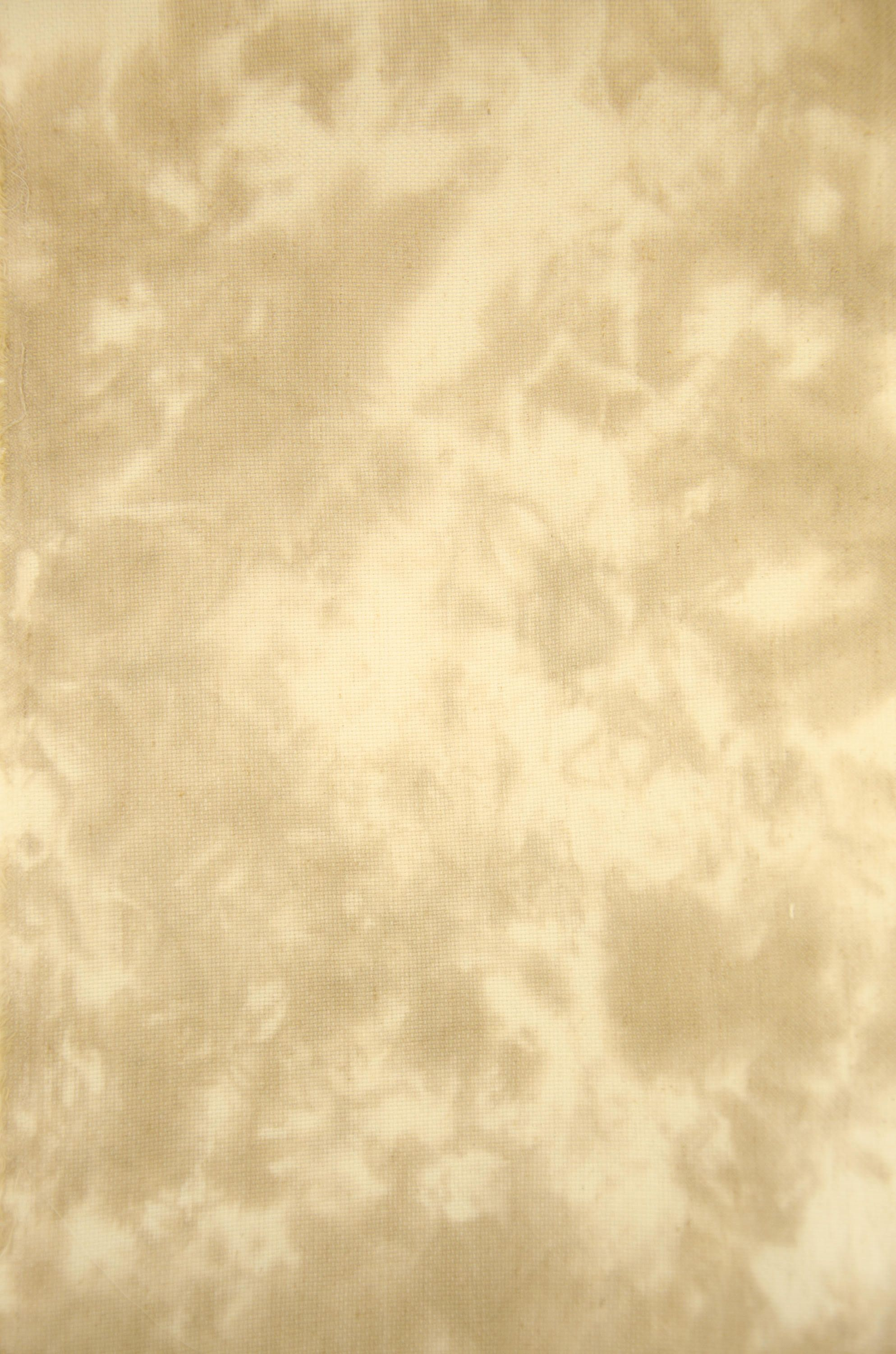 Hand-dyed Cross Stitch Fabric 18 count aida, Item# 35 Tan and Light