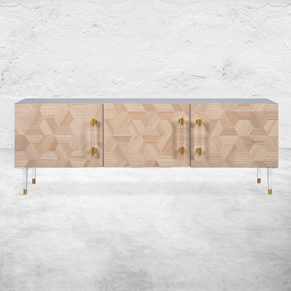 Glamour Minimalist Linear Furniture By Dallagnese