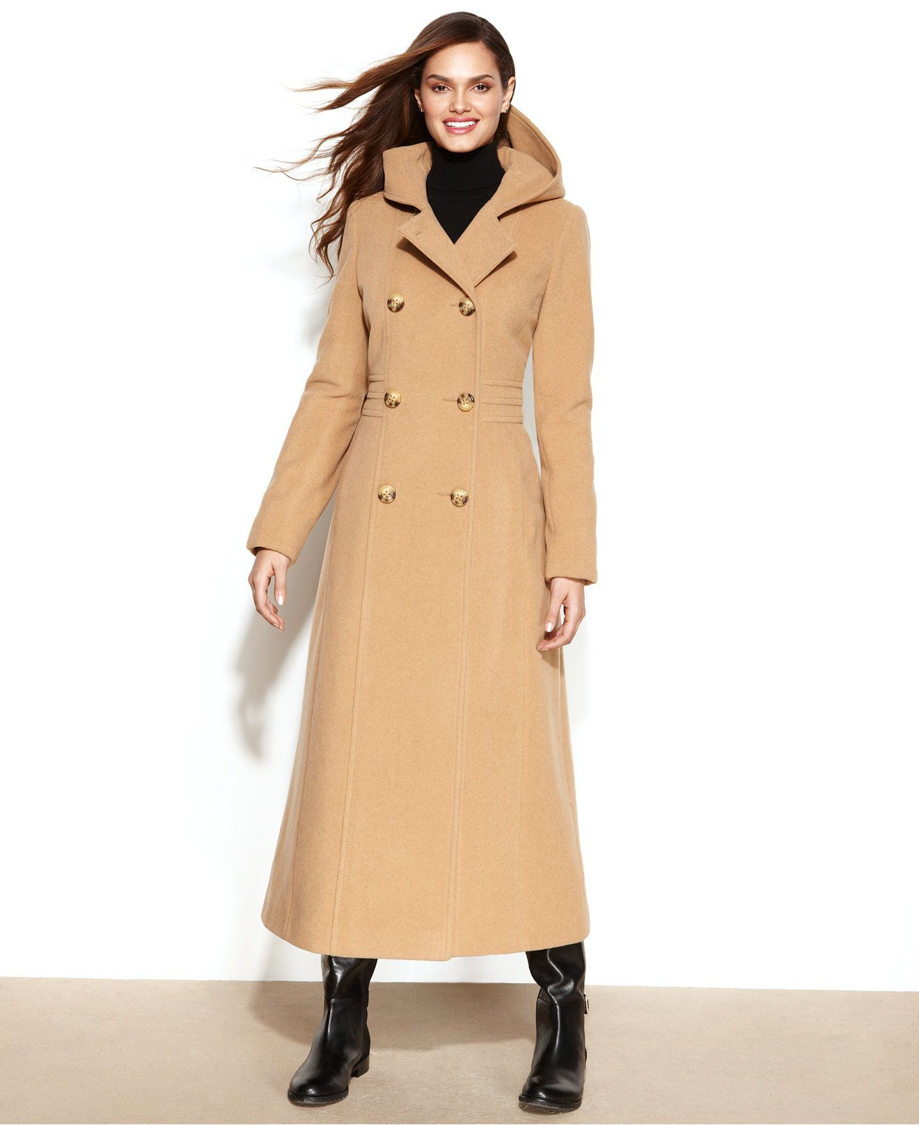 Maxi coat for women