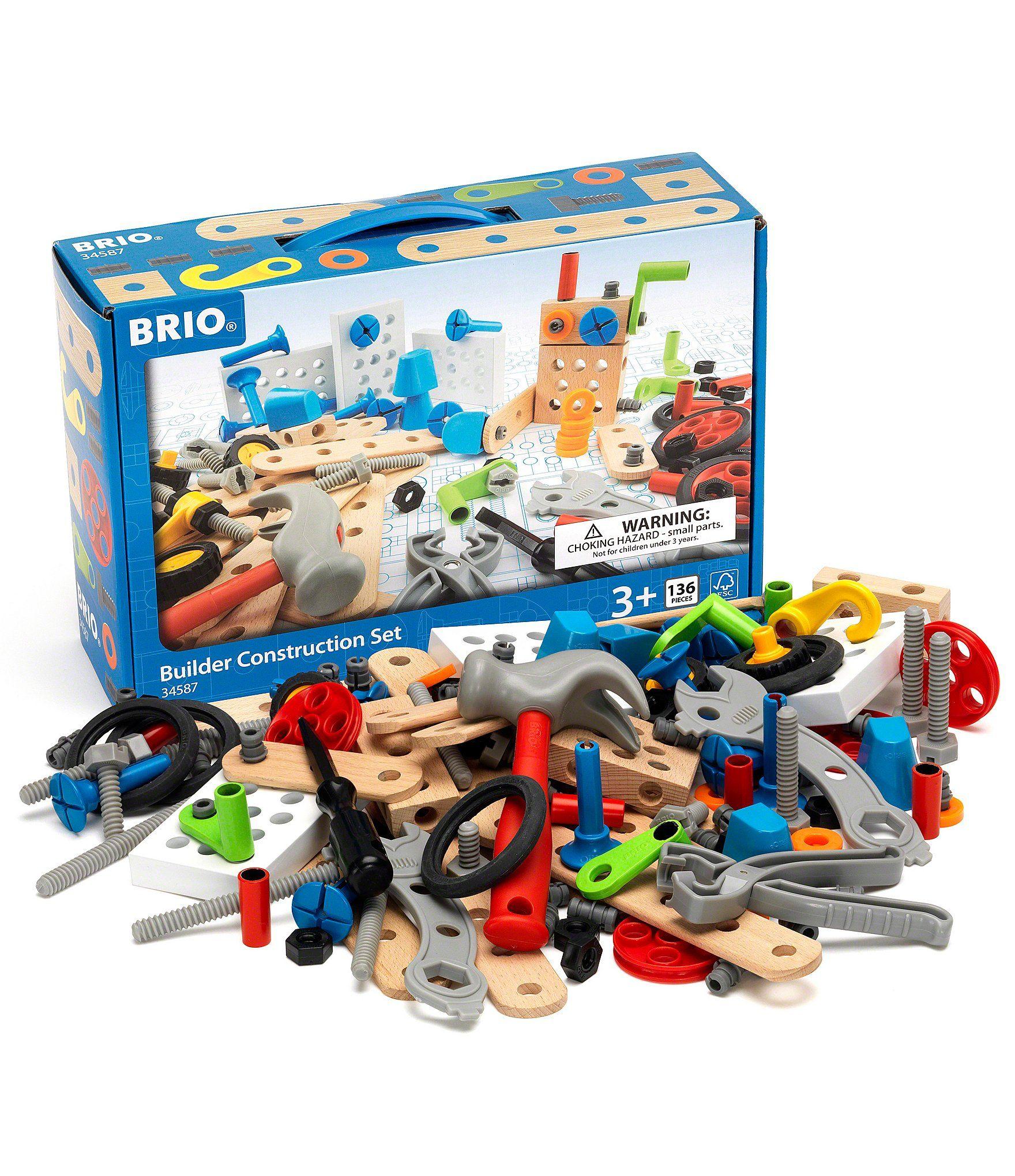 Brio Builder Construction Set Tan One Brio Brio Toys Toddler
