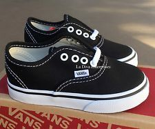 Girls shoes, Vans authentic black