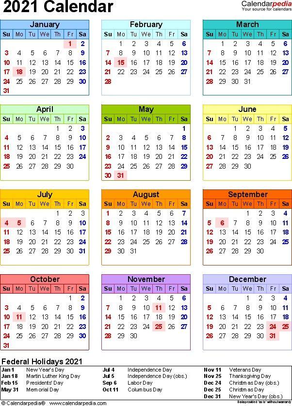Calendar 2021 Template Word All Months – Welcome to help my weblog