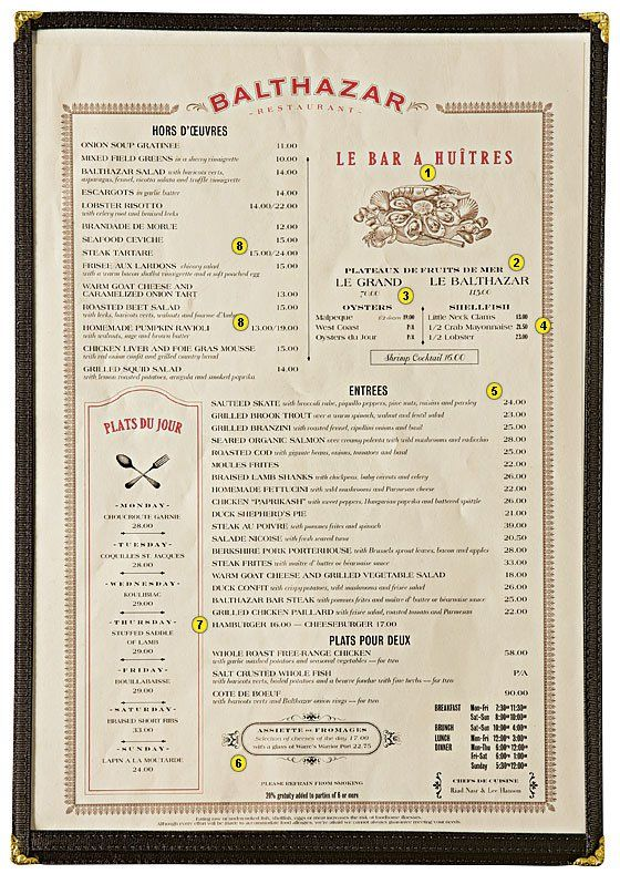 How a menu can make you order what the restaurant wants you to