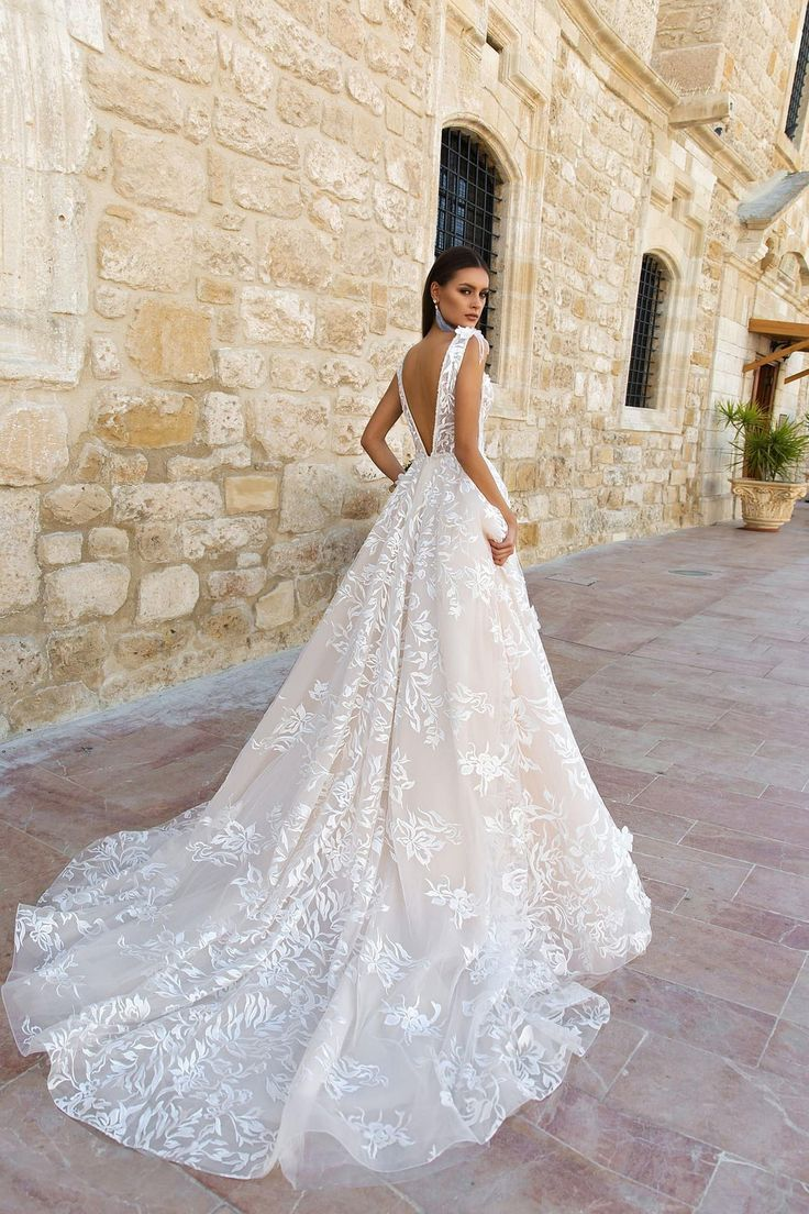 French Lace Love Wedding Dress, Bohemian Wedding D