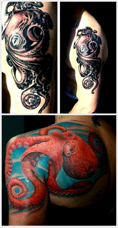 Photo of 60 Octopus Tattoo Designs für Männer – Sea Monster Tentacles – 60 Octopus Tatt…