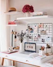 coin bureau idéal pour les petits espaces  Sophies MoodsMon coin bureau idéal pour les petits espaces  Sophies Moods Desk Windows Wonder if Justin would min...