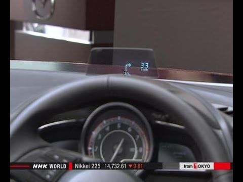 The Future Of Car Speedometer عداد سرعة السيارة بتقنية جديدة تماما This Transparent Car Speedometer That Is Right In Front Of The Driver Will Be The Future Of S