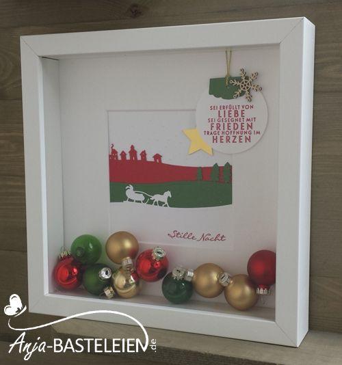 Weihnachtsbilder Zum Basteln.Schlittenfahrt Meets Ribba Rahmen Diy Weihnachtsbilder