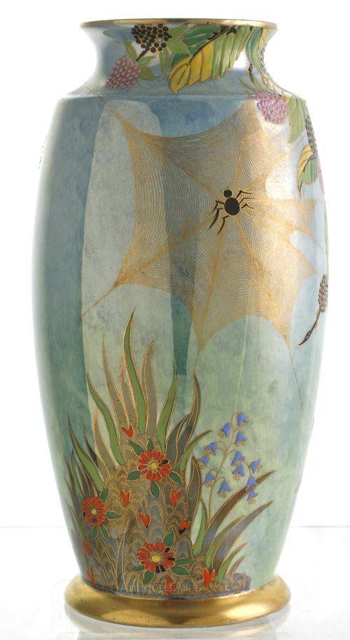 Carlton Ware Vase Art Deco 1930s Carlton Ware Pinterest