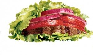 protein style burger