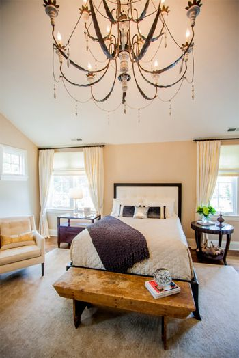 Master Bedroom With Light Peach Walls (likeable Sand)