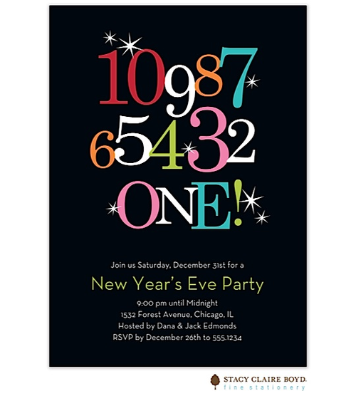 New Year Countdown Invitation (With images) New years