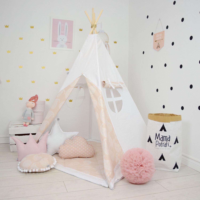 Teepee Set Kids Play Tent Tipi Kid Play Teepee Child Teepee Wigwam