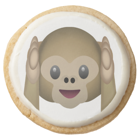 Hear No Evil Monkey Emoji Monkey Emoji Emoji Cookie Emoji