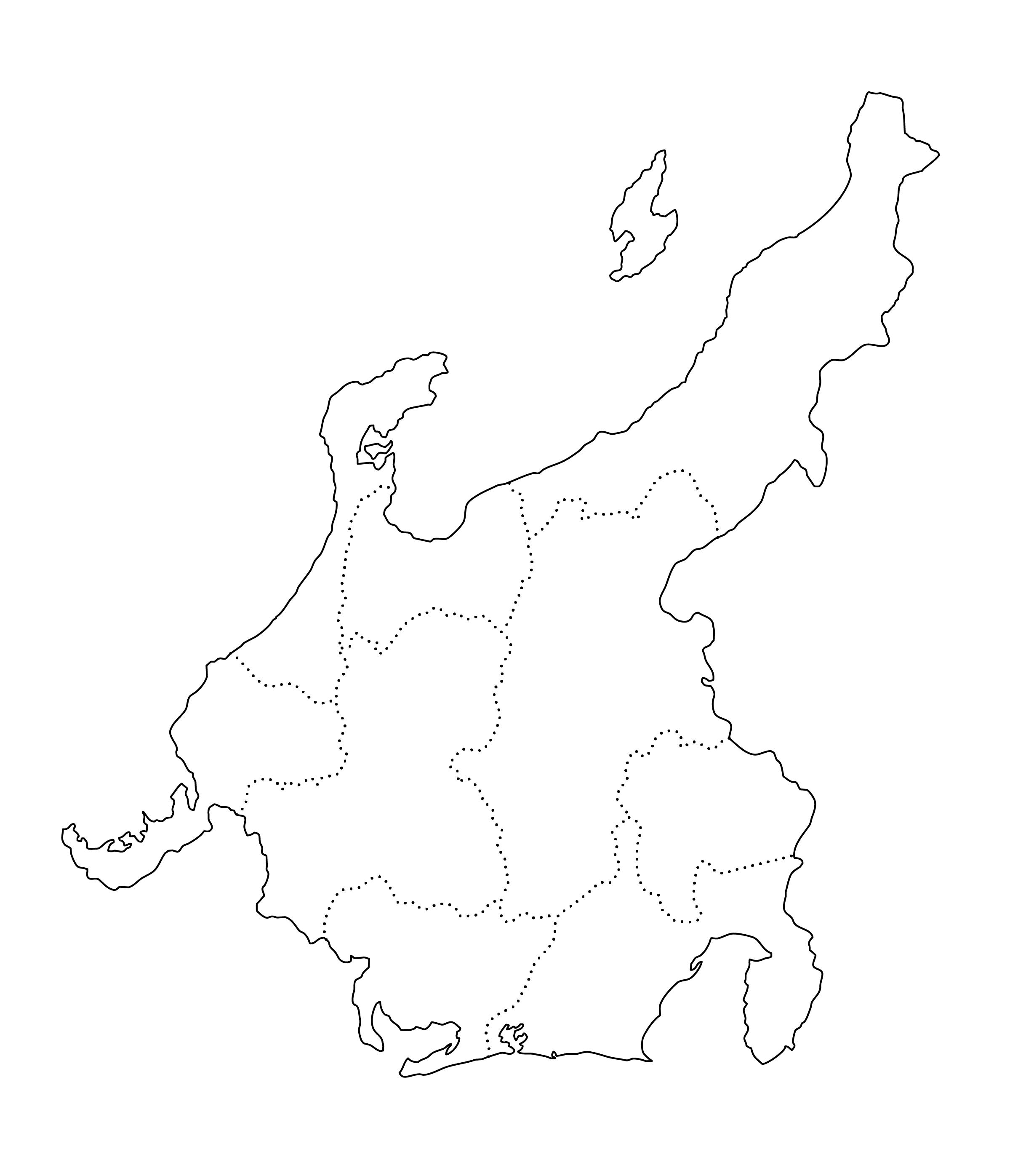 日本地図 地方 白地図のイラスト 白地図 中部 白地図 地図 イラスト