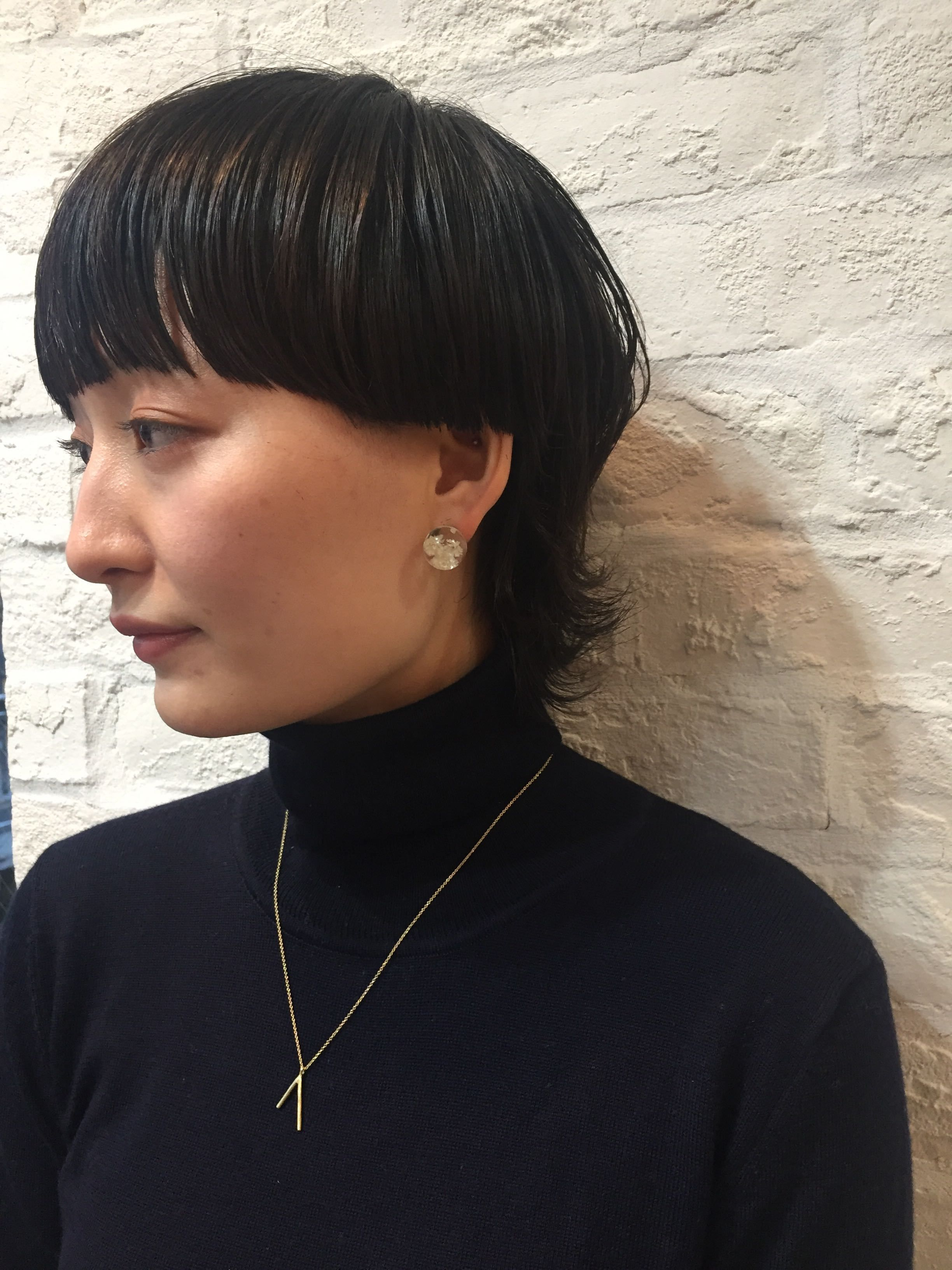 マッシュウルフ ショート カットモデルアプリ Cutmo カトモ プチプラ で髪を切る 髪型 ボブ 個性的 髪型 ヘアカット