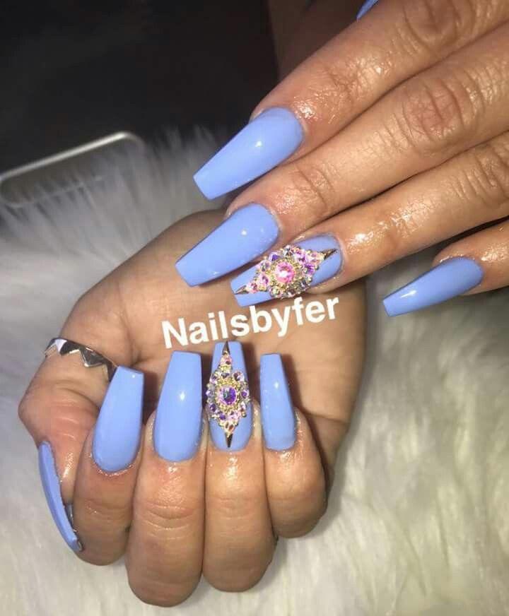 my new set | Nails :) | Pinterest | Nail nail, Nail inspo and Coffin ...