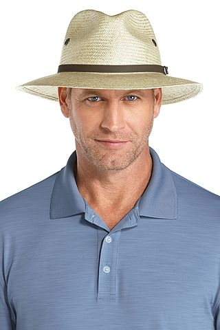 At Coolibar.com we have a SPF Hat for every occasion. Our Fairway Men s  Golf Hats are a classic choice for shading the sensitive skin on your face  and neck. 33e3e797a09