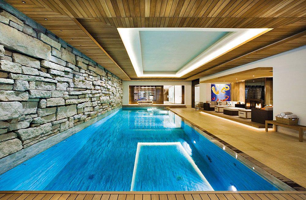 Best 46 Indoor Swimming Pool Design Ideas For Your Home Piscine Interieure Piscine Interieure Grange Piscines Design