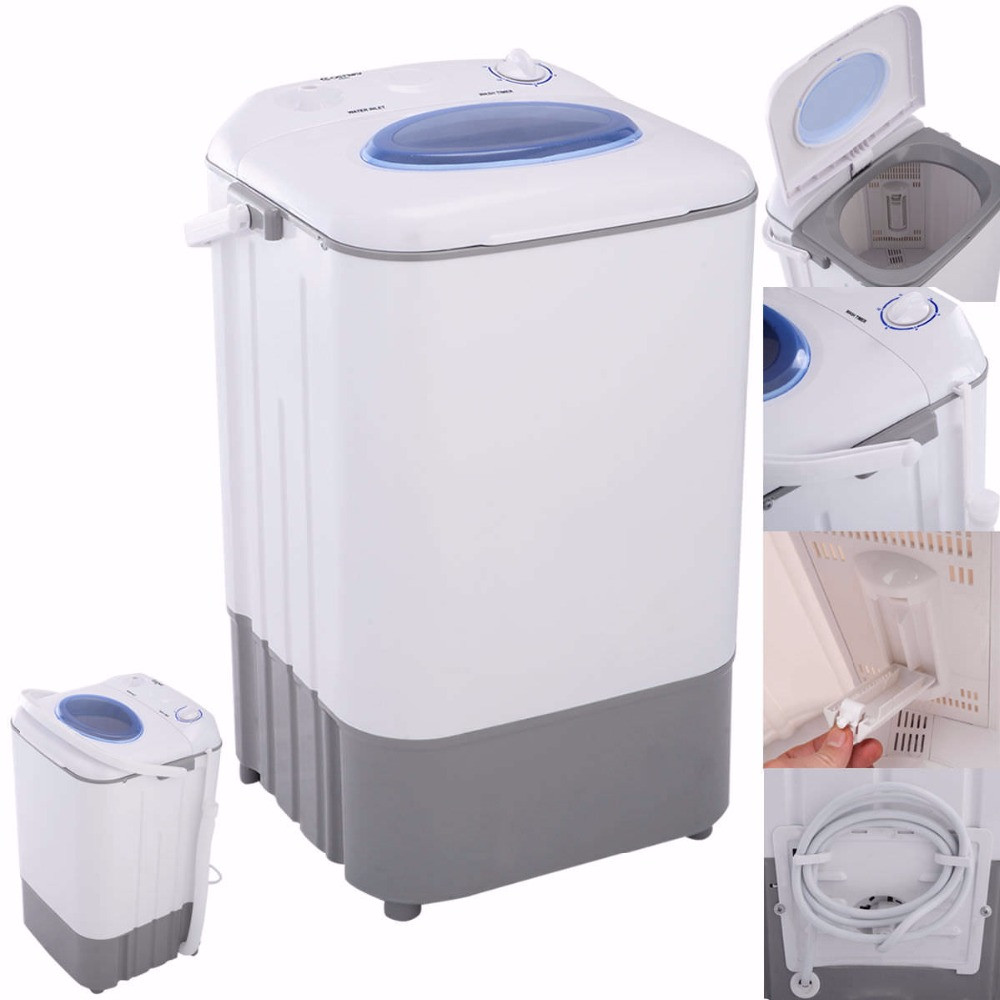 Mini Washing Machine for Laundry Portable Small Compact Single Tub ...