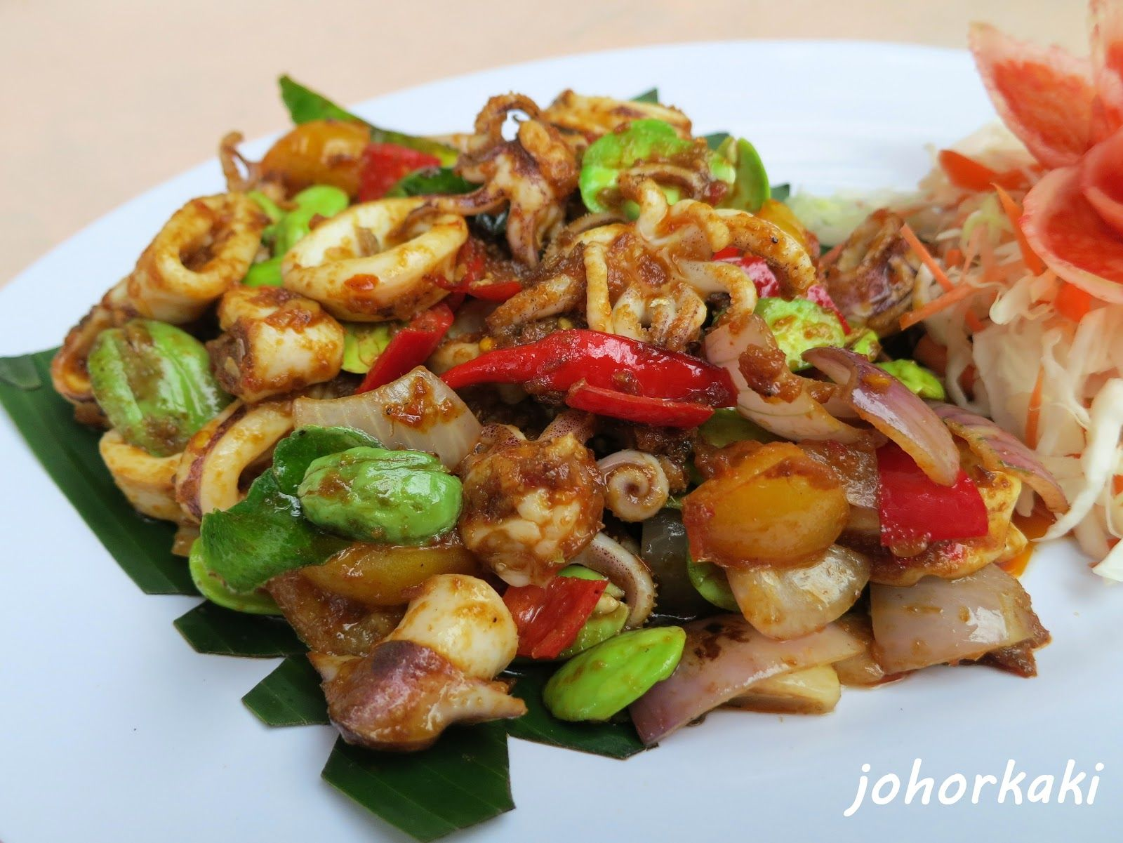 bangkok street food taman desa