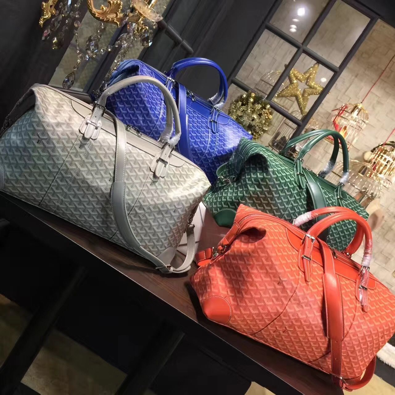 Goyard travel luggage duffel bag   Goyard bag, Bags, Goyard