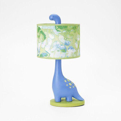 Truly Scrumptious Dinosaur Tracks Nursery Bedding Collection (Lamp Base And  Shade) By Heidi Klum