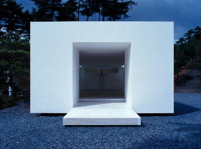 White Temple, Takashi Yamaguchi U0026 Associates, Kyoto, Japan. Minimal ArchitectureArchitecture  DesignDesign ...