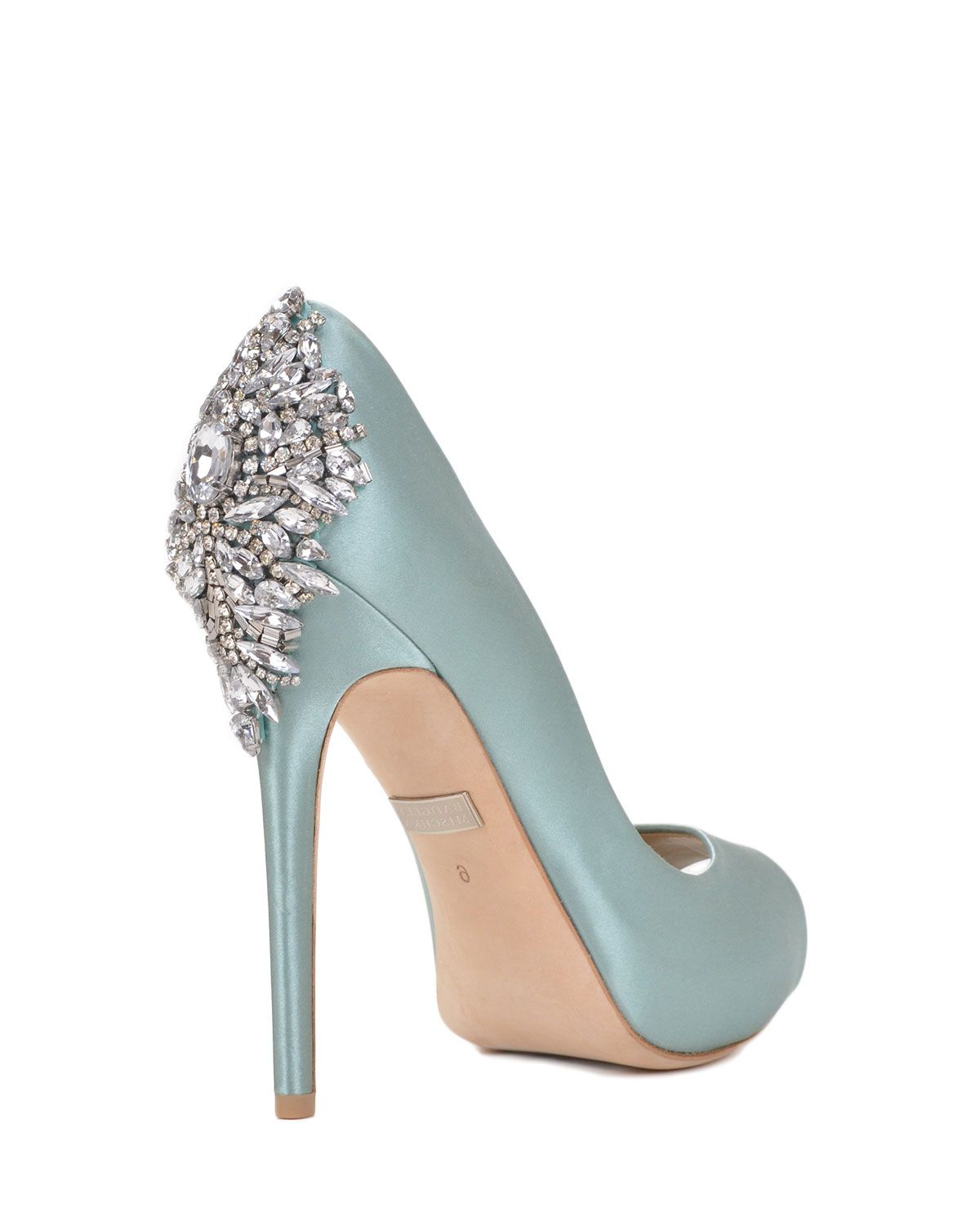 Kiara evening shoes by Badgley Mischka, now available at the ...