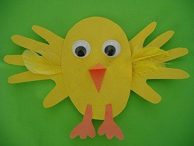Easter Chicks for Children
