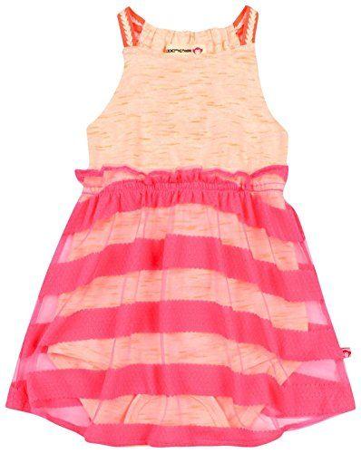 16f9f9b5b6f8 Appaman Appaman Baby Girls Corfu Onesie Dress Hot Pink 36 months ...