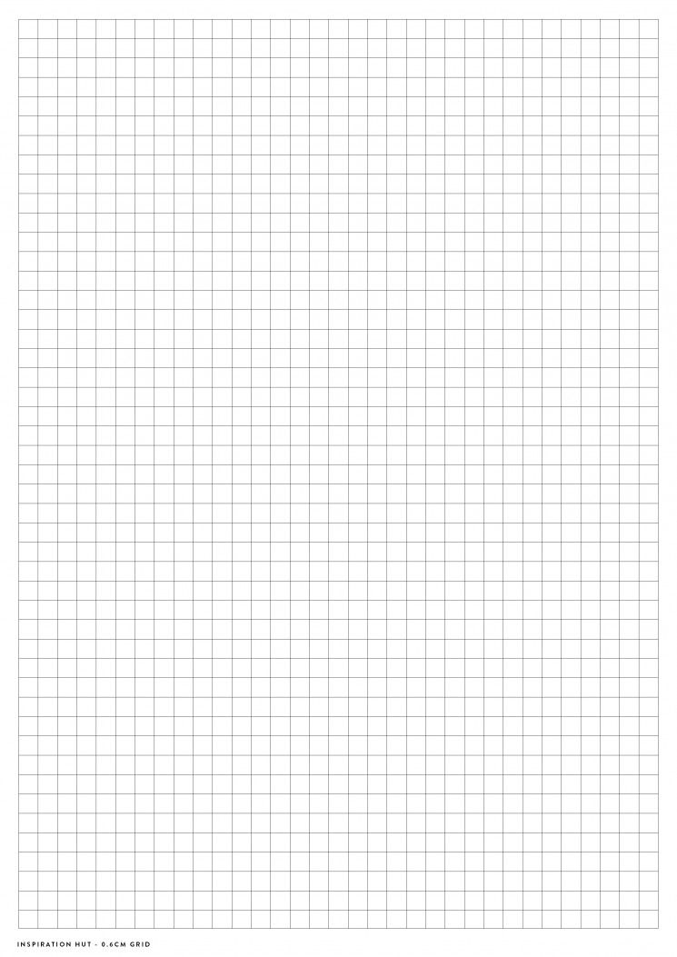 Printable Graph  Grid Paper Pdf Templates  Inspiration Planners