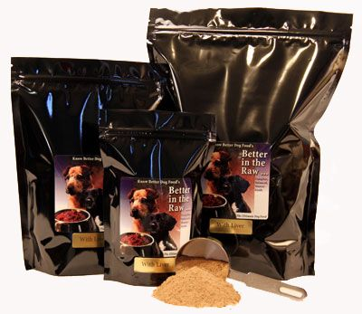 Better in the Raw for Dogs | Raw dog food recipes, Raw ...