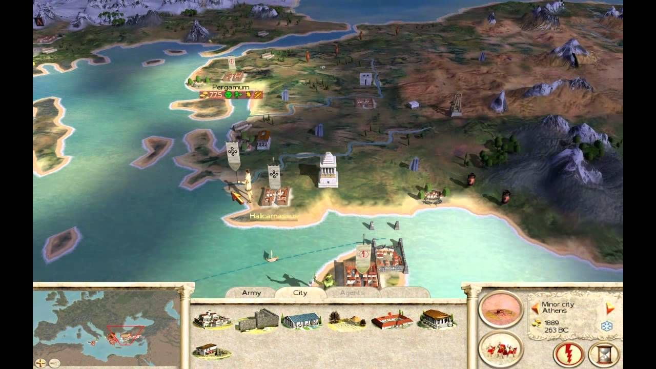 Ejemplo. Juego. Roma Total War.