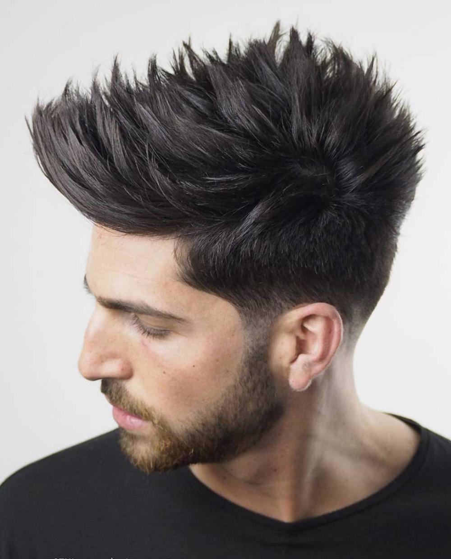 25 Best Faux Hawk Hairstyles Fohawk For Men In 2020 In 2020 Mens Hairstyles Medium Medium Hair Styles Men Hairstyle Names