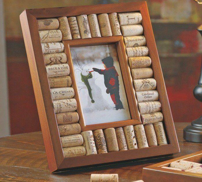 fabriquer un cadre photo 60 id es pour un objet valeur sentimentale cadres sur le mur. Black Bedroom Furniture Sets. Home Design Ideas