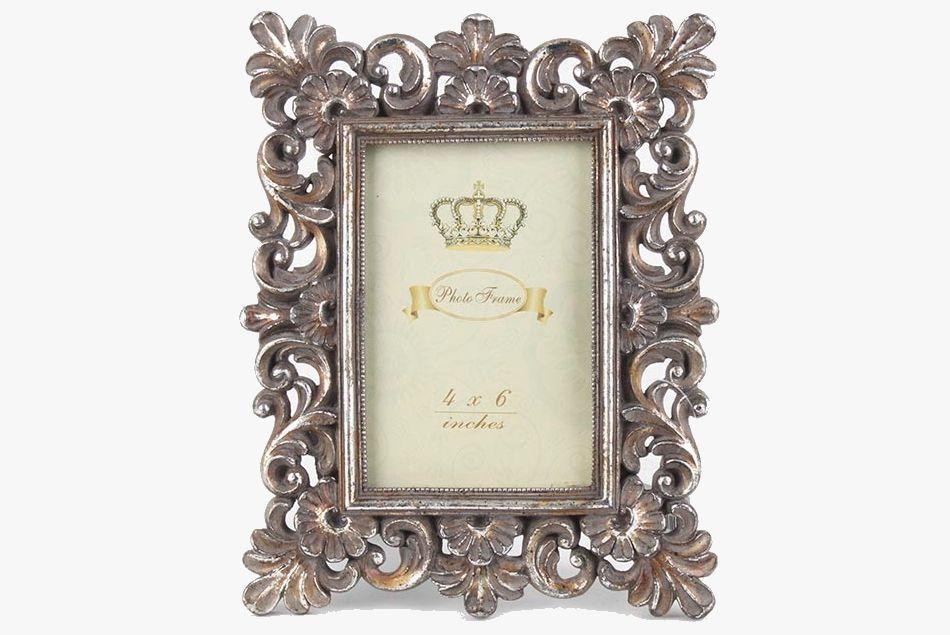 Rama Foto Antica Argintie 10x15 Cm Frame Antica Rama