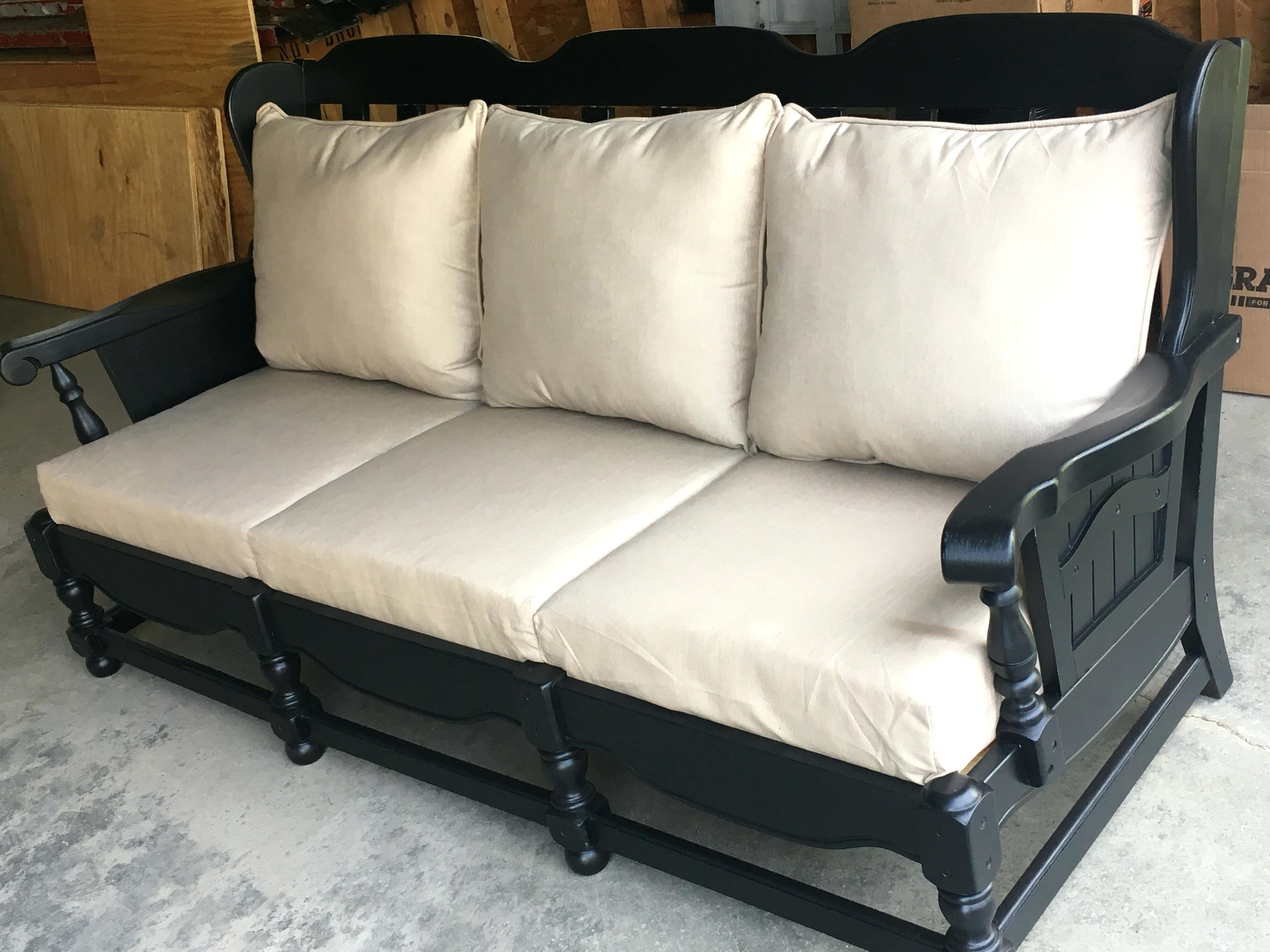 25 Neue Beste Dichte Schaum Fur Die Sofa Couch Makeover Wooden Couch Furniture Makeover
