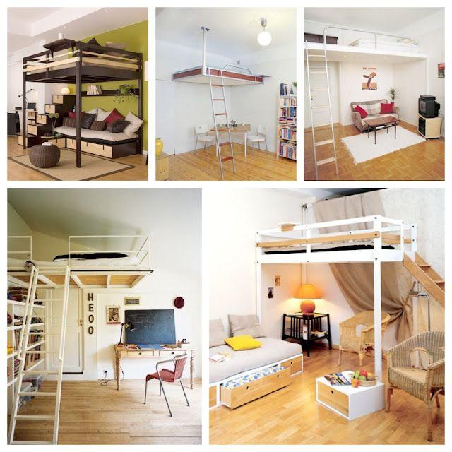 Modelos camas areas quartos camas camas elevadas e alto - Cama en alto ...