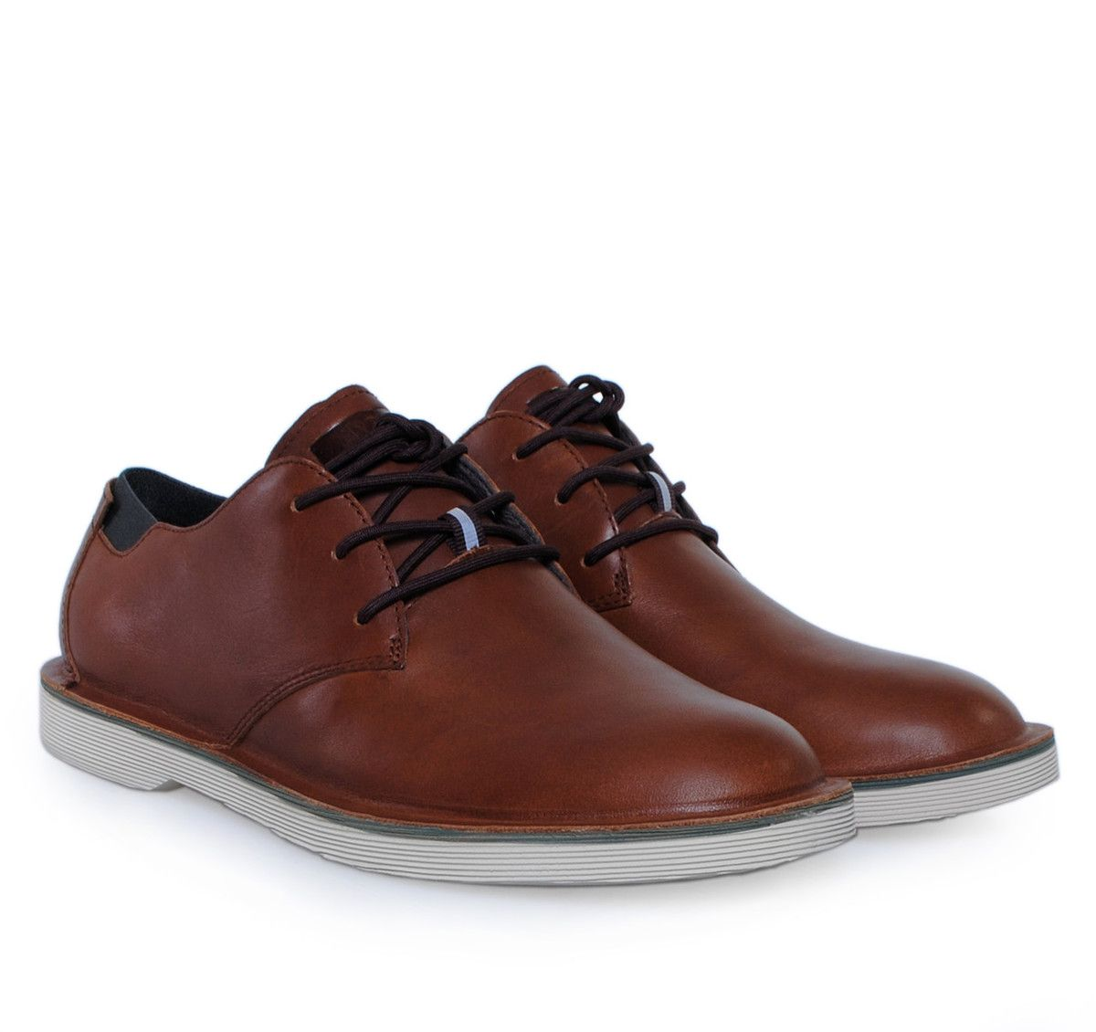 bcc3cc674a CAMPER Brown Casual Leather Shoes. Ανδρικά καφέ παπούτσια με κορδόνια.