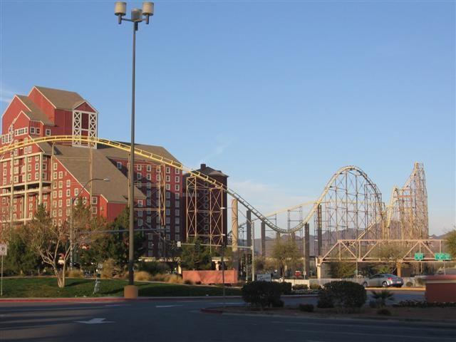 Desperado Roller Coaster So Fun Primm Outlets