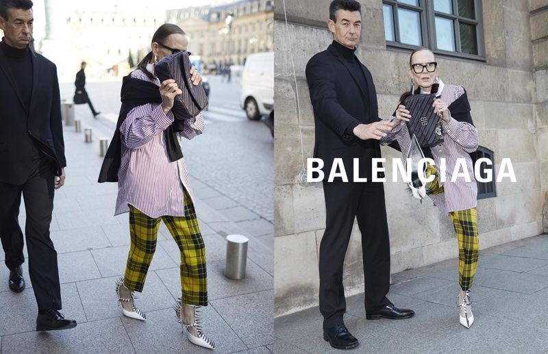 pick up big discount the best Balenciaga Mimics Paparazzi Photos for Spring 2018 Campaign ...