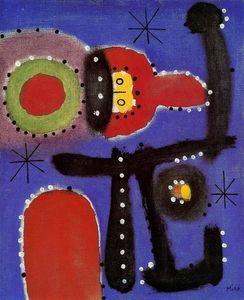 Pintura 9 - (Joan Miro)